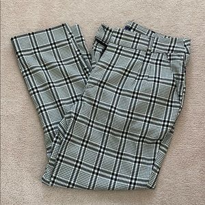 Abercombie and Fitch Plaid Pants